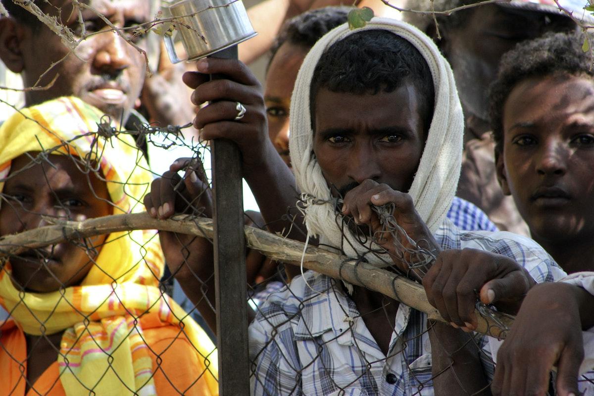 سكان من ولاية كسلا في شرق السودان  - REUTERS