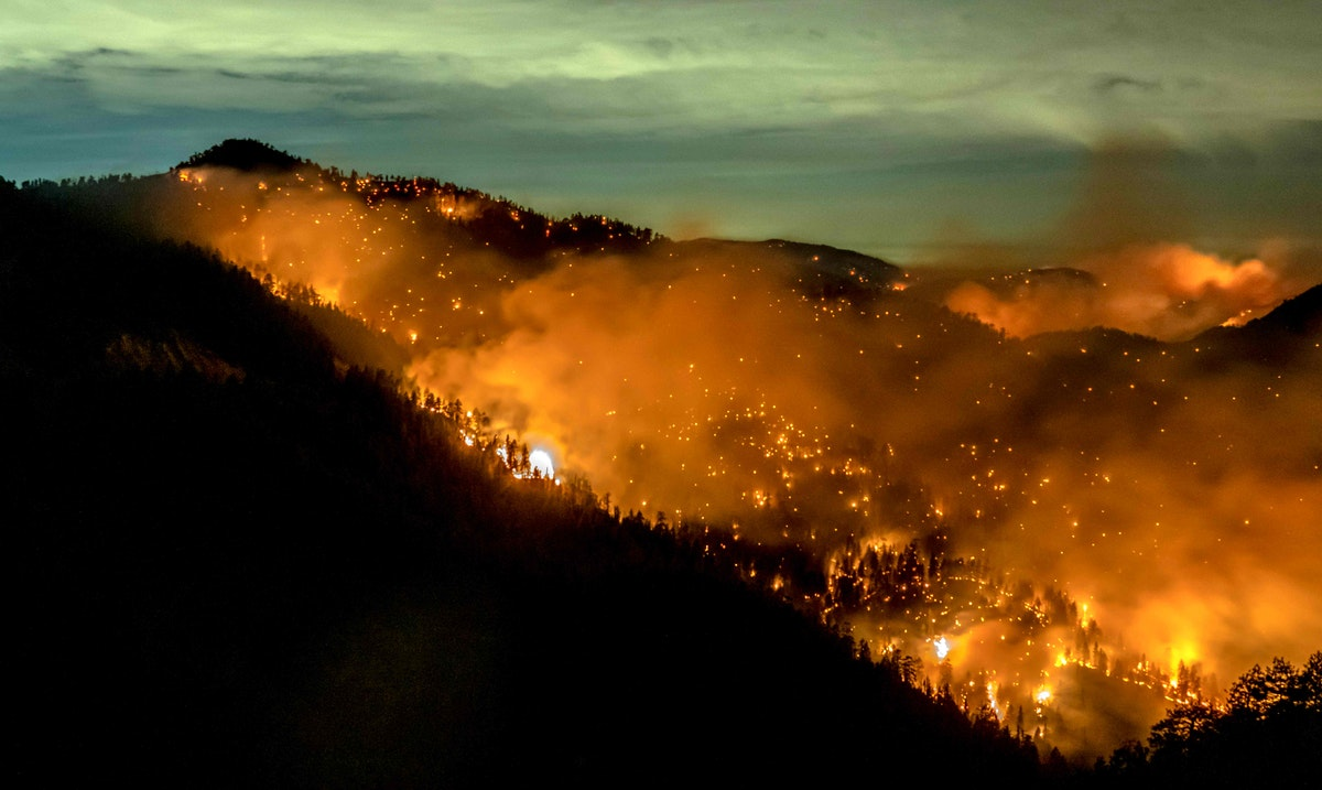 حريق في غابات ولاية كاليفورنيا الأميركية-17 سبتمبر 2020 - AFP