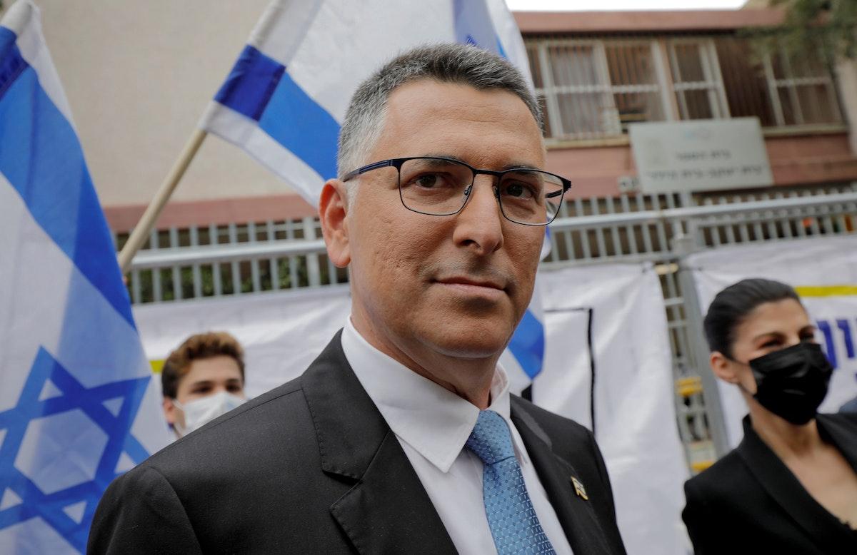"""زعيم حزب """"أمل جديد"""" المرشح لوزارة العدل في الحكومة المقبلة جدعون ساعر - REUTERS"""