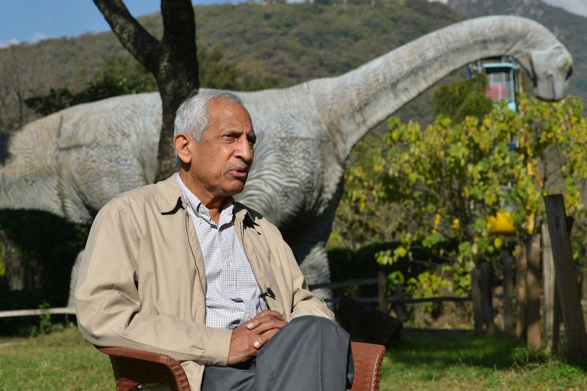 ضفقار زكريا - عضو مجلس إدارة الحياة البرية في إسلام أباد - AFP