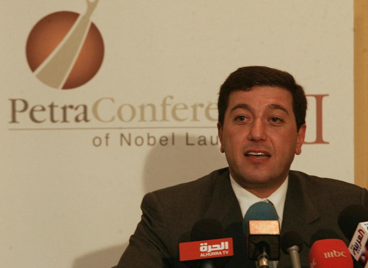 باسم عوض الله، رئيس الديوان الملكي الأردني السابق. - AFP