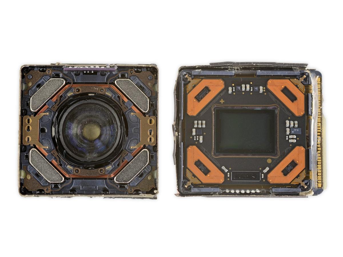 """أبل تستخدم أكبر مستشعر كاميرا على الإطلاق على هواتفها في """"آيفون 12 برو ماكس"""" - iFix it"""