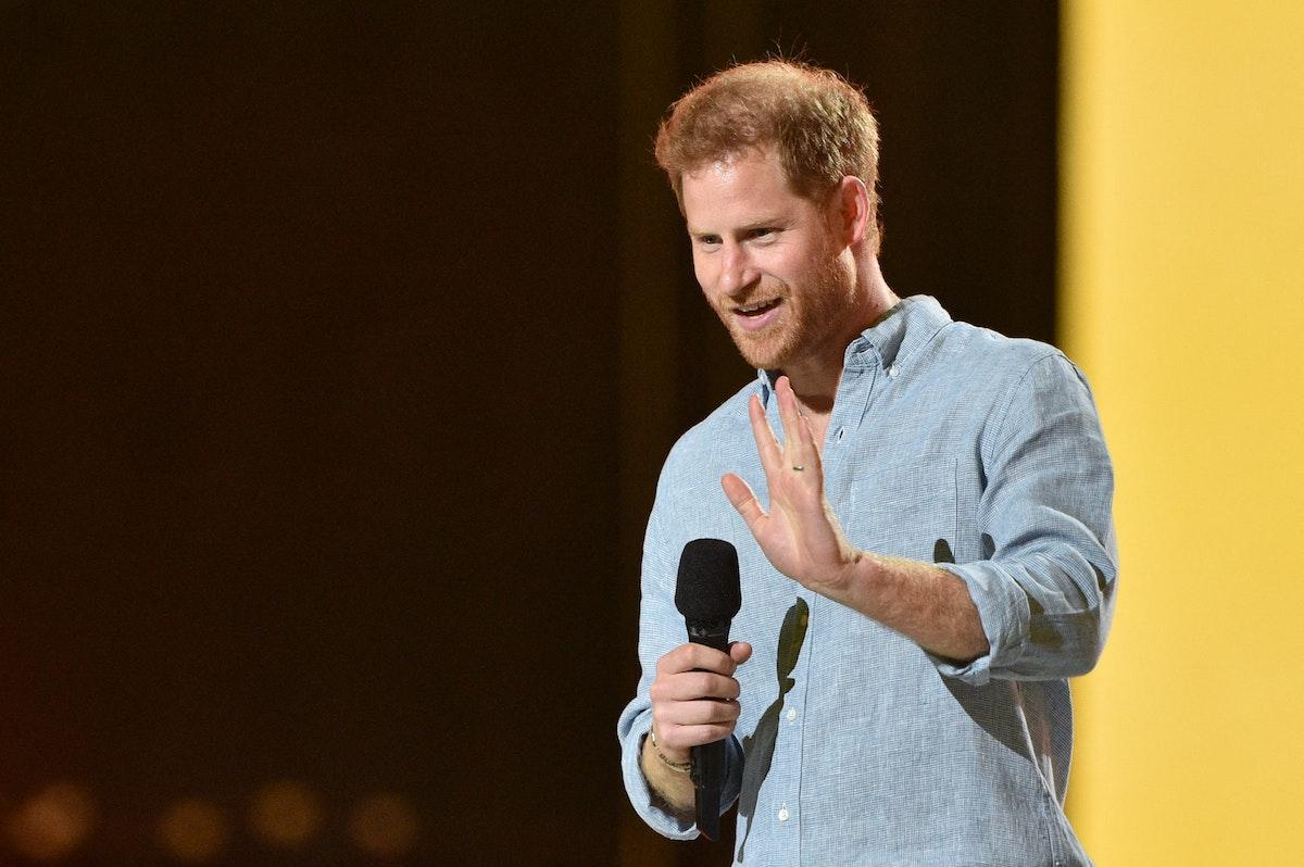 مشاركة الأمير البريطاني هاري في الحفل الموسيقي الذي أقيم في لوس أنجلوس - AFP