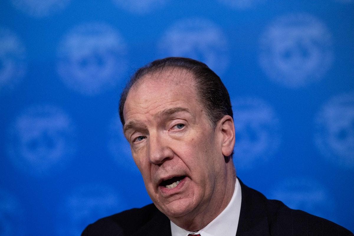 رئيس مجموعة البنك الدولي ديفيد مالباس - AFP