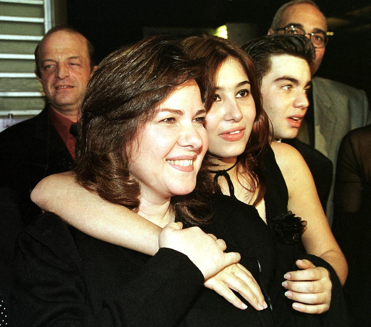 الفنانة المصرية دلال عبدالعزيز، 20 مارس 2001 - AFP