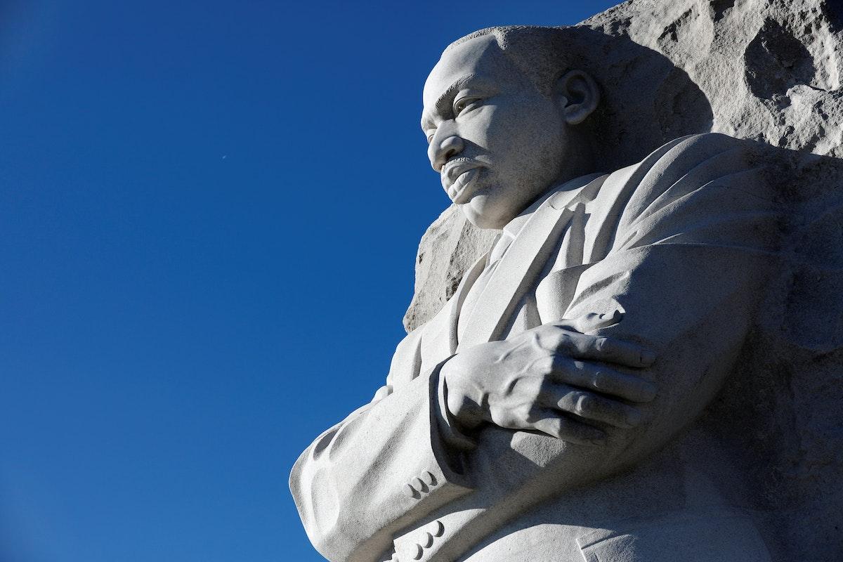 نصب مارتن لوثر كينغ في واشنطن - REUTERS