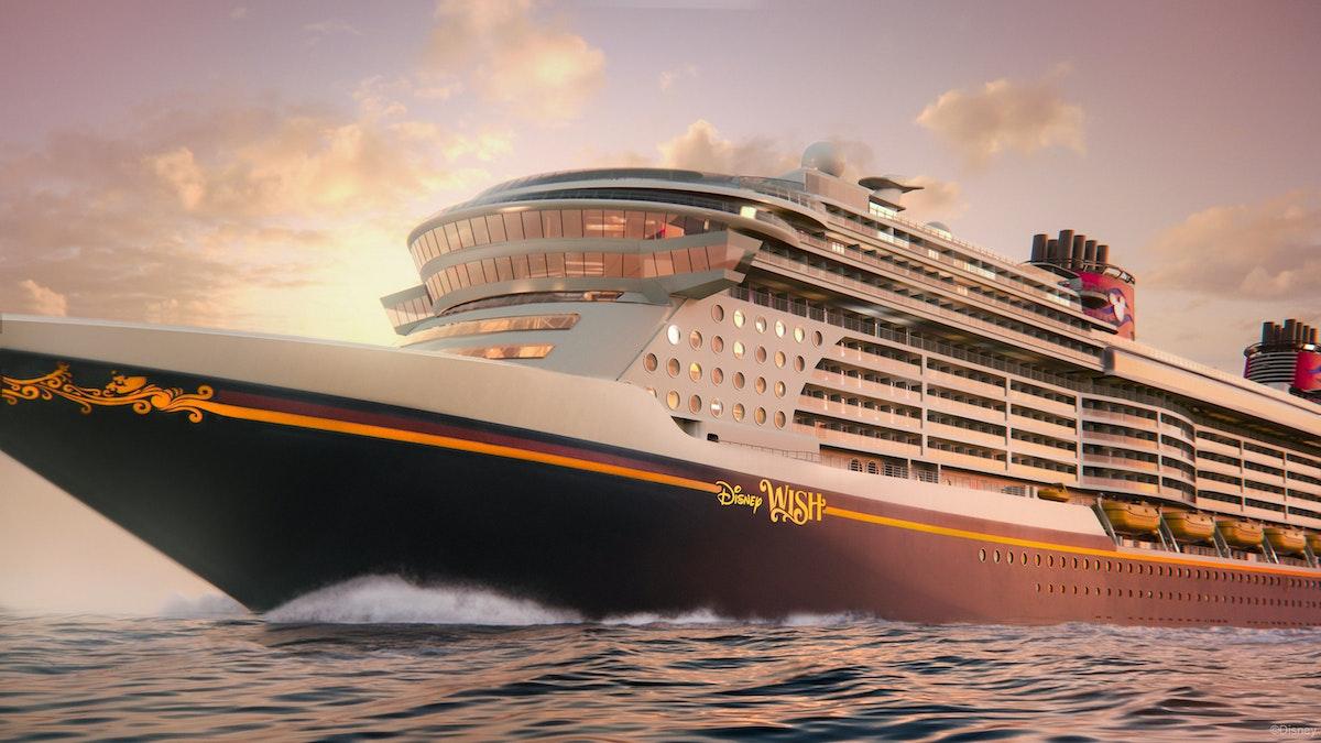"""صورة تصور إحدى سفن """"والت ديزني"""" الترفيهية. موقع ديزني"""