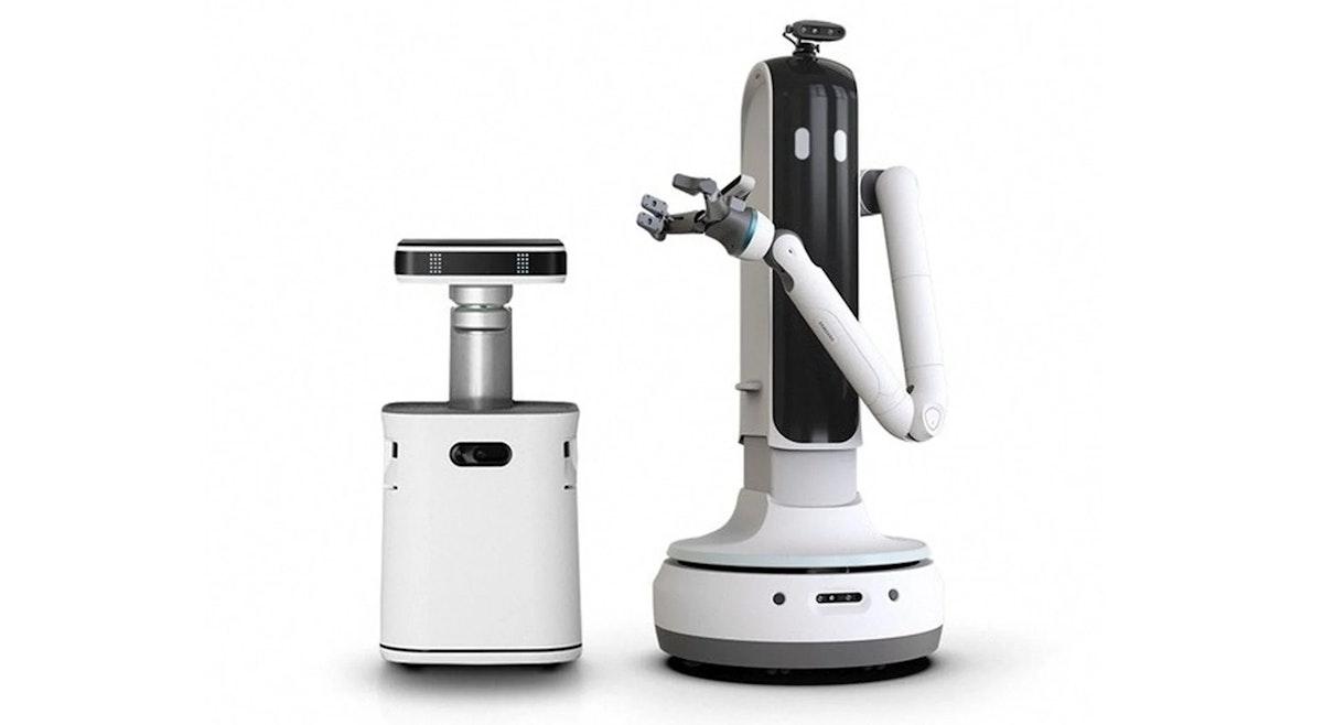 روبوت Bot Hany (إلى اليمين) - روبوت Bot Care (إلى اليسار) - سامسونغ
