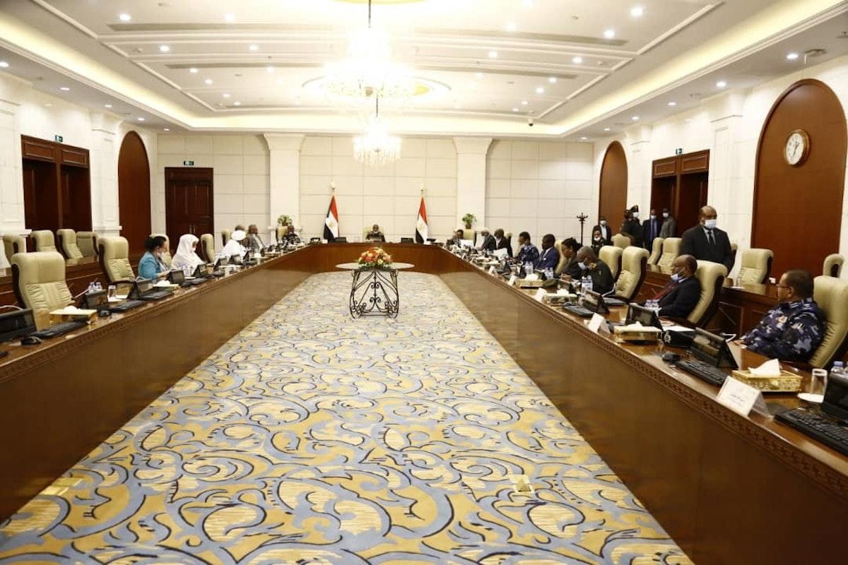 اجتماع لأعضاء مجلس الدفاع والأمن السوداني لمناقشة أزمة شرق البلاد - وكالة الأنباء السودانية