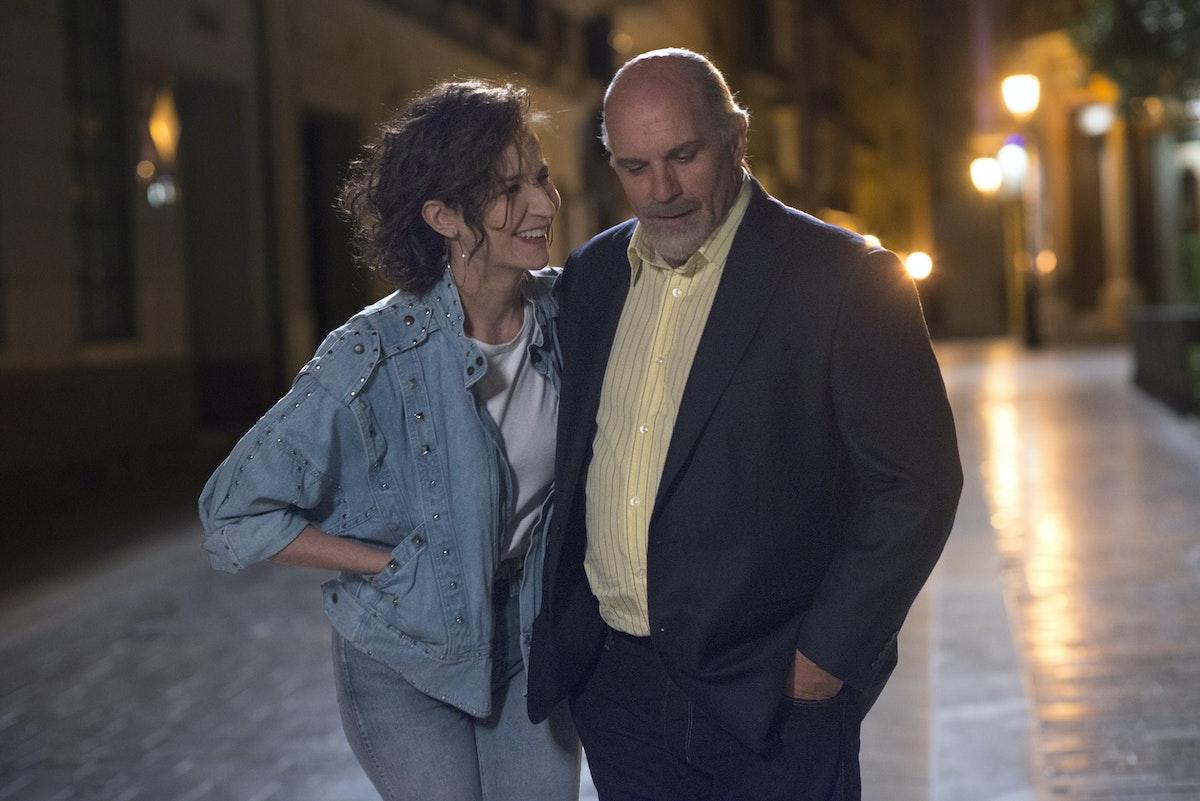 الممثل سيلفان مارسيل (جاي كلود) والممثلة فاليري لوميرسي (ألين) في لقطة من الفيلم - الشركة المنتجة