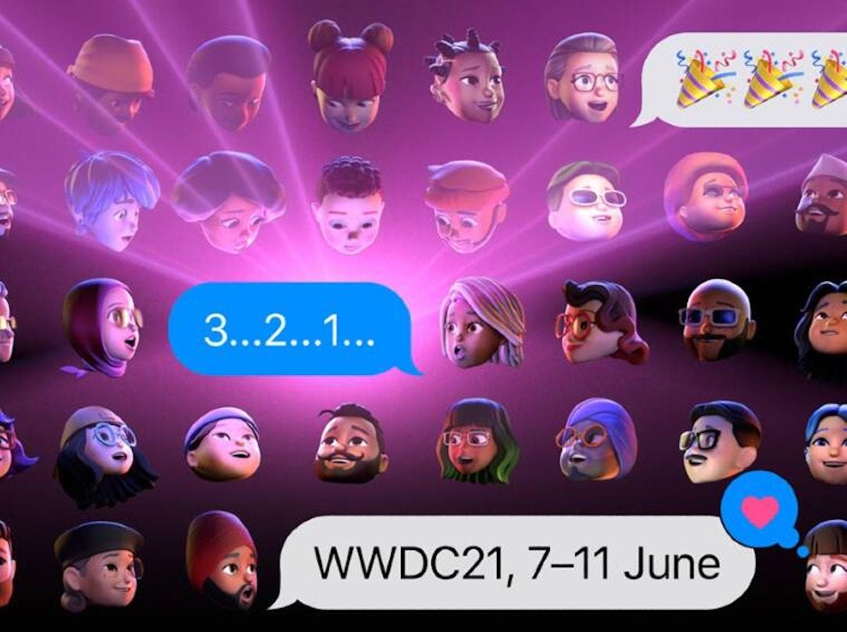 أحد الصور الترويجية لمؤتمر أبل للمطورين WWDC 2021 - أبل