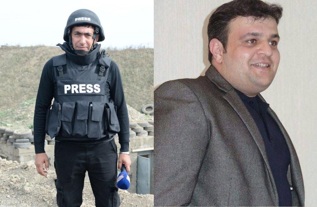 الصحافيان الأذربيجانيان اللذان لقيا حتفها خلال انفجار لغم قرب ناغورني قره باغ - وكالة الأنباء الأذربيجانية