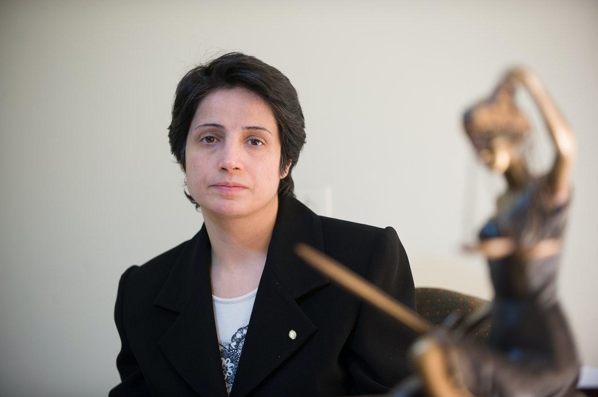 الناشطة الإيرانية نسرين سوتوده - AFP