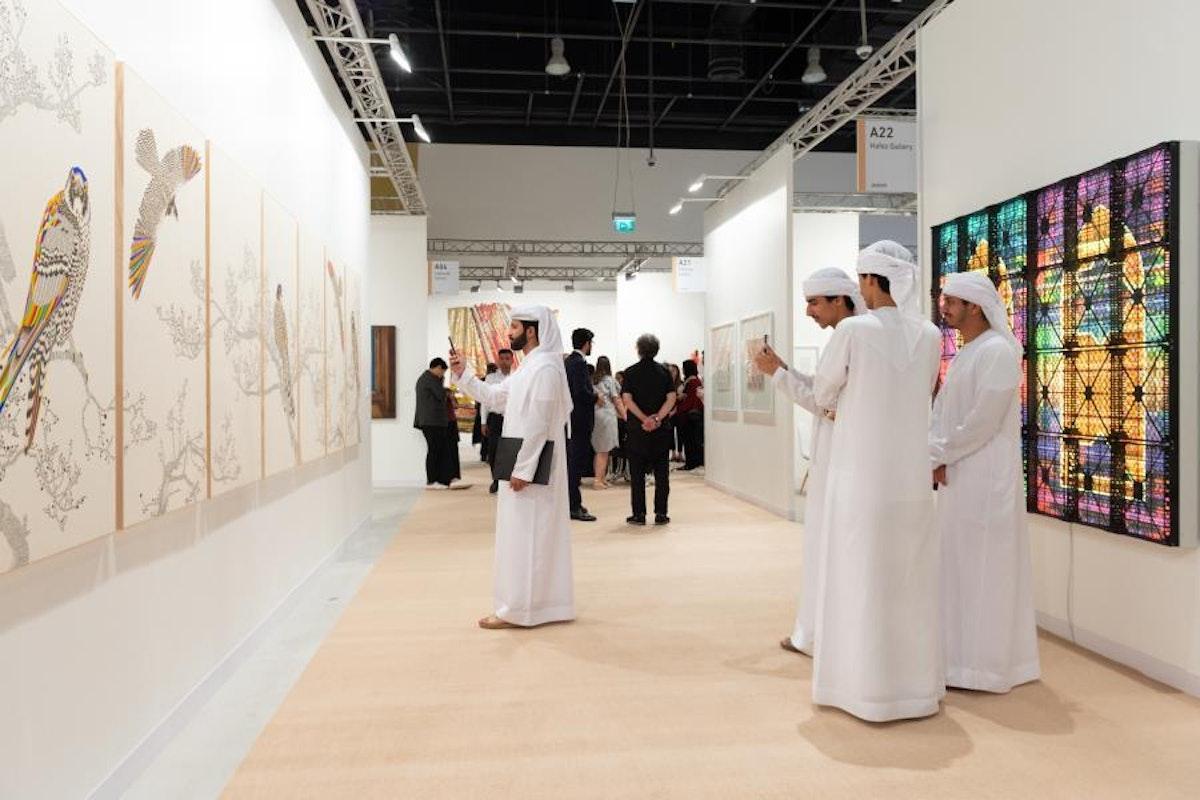 صورة أرشيفية لمعرض فن أبوظبي - الموقع الرسمي لمعرض فن أبوظبي