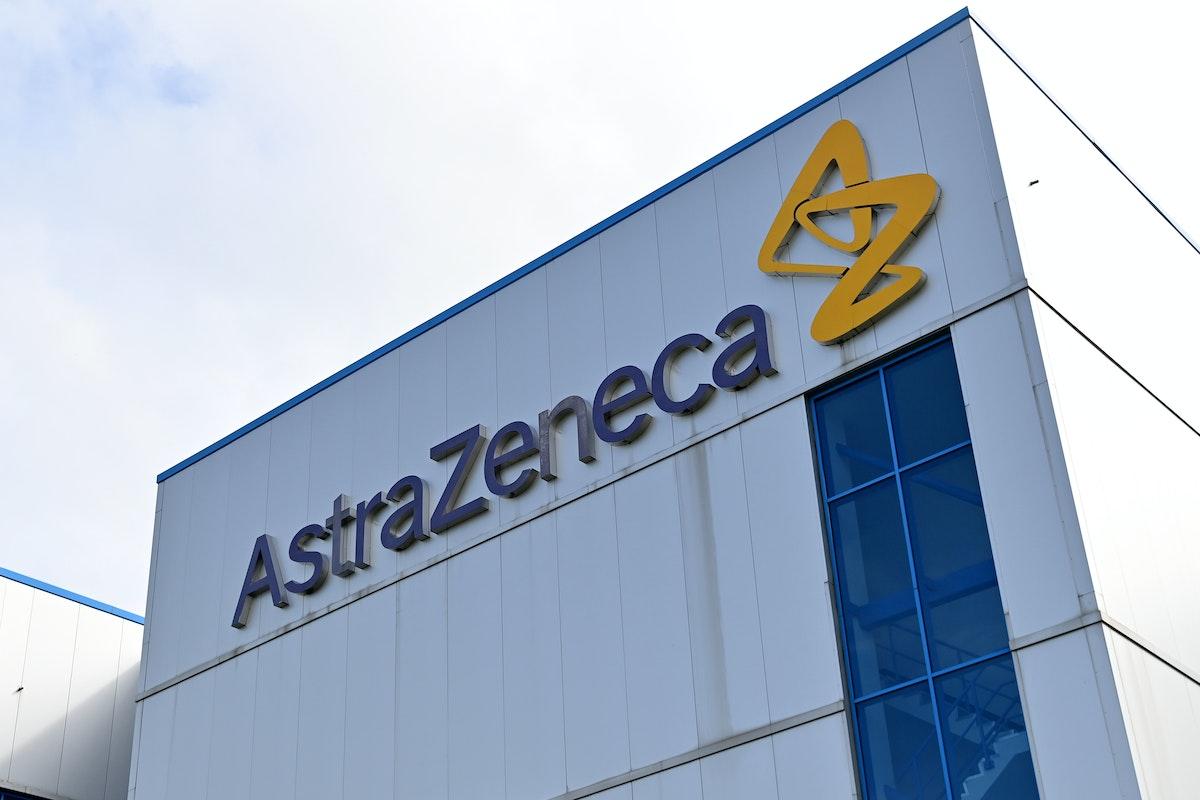 إطلالة عامة لمكاتب شركة أسترازينكا في ماكليسفيلد بإنجلترا في 21 يوليو 2020 - AFP