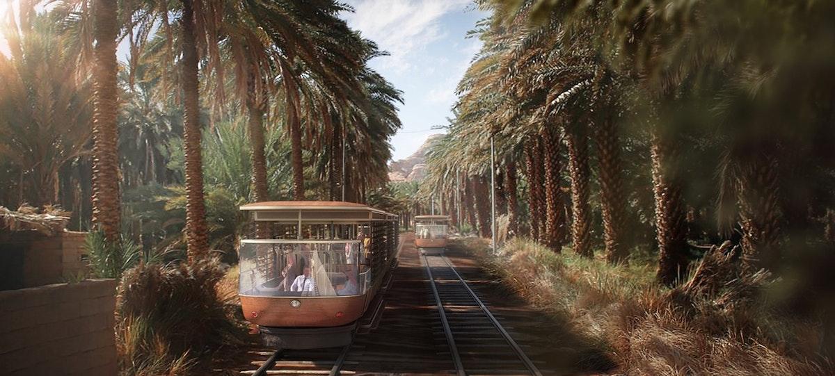 """قطار العلا الكهربائي سيجول بين المواقع التراثية بمسار طوله 46 كيلو متراً - """"الشرق"""""""