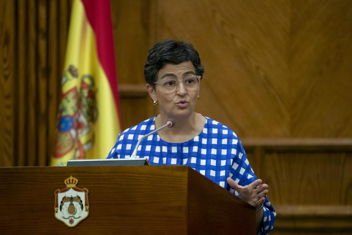 وزيرة الخارجية الإسبانية أرانتشا غونزاليس لايا - AFP