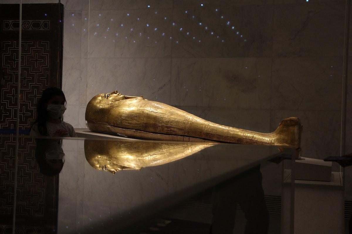 جانب من المتحف القومي الجديد للحضارة المصرية - الشرق