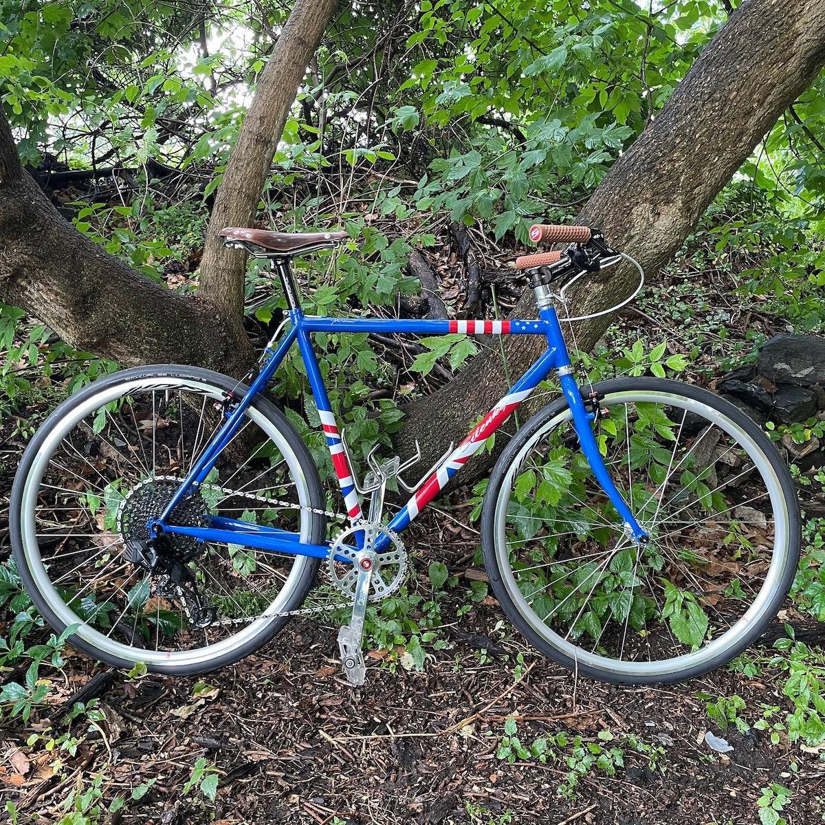 دراجة جونسون بعد الانتهاء من صنعها - facebook/phillybikeexpo