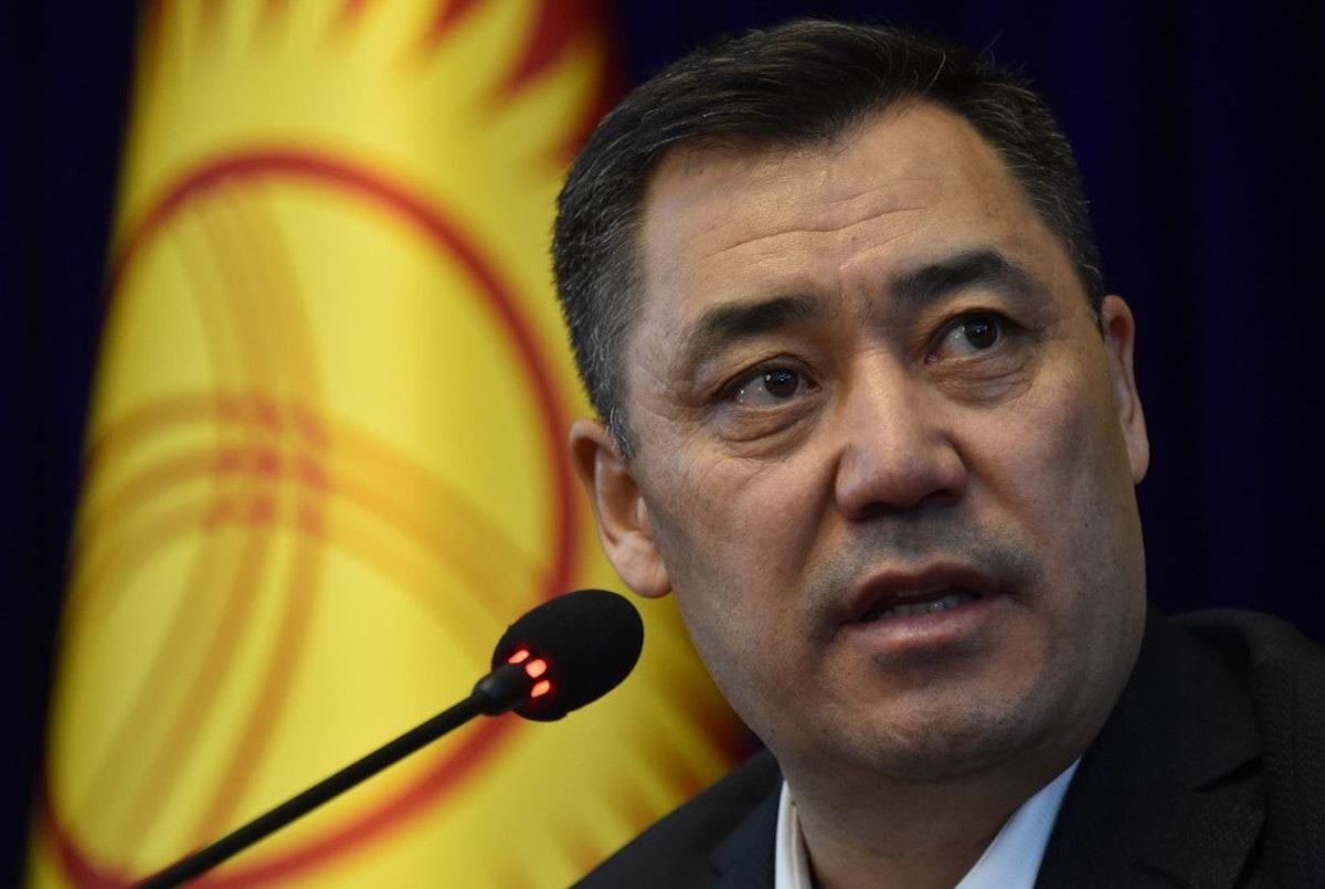 رئيس وزراء قيرغيزستان صدر جباروف - AFP