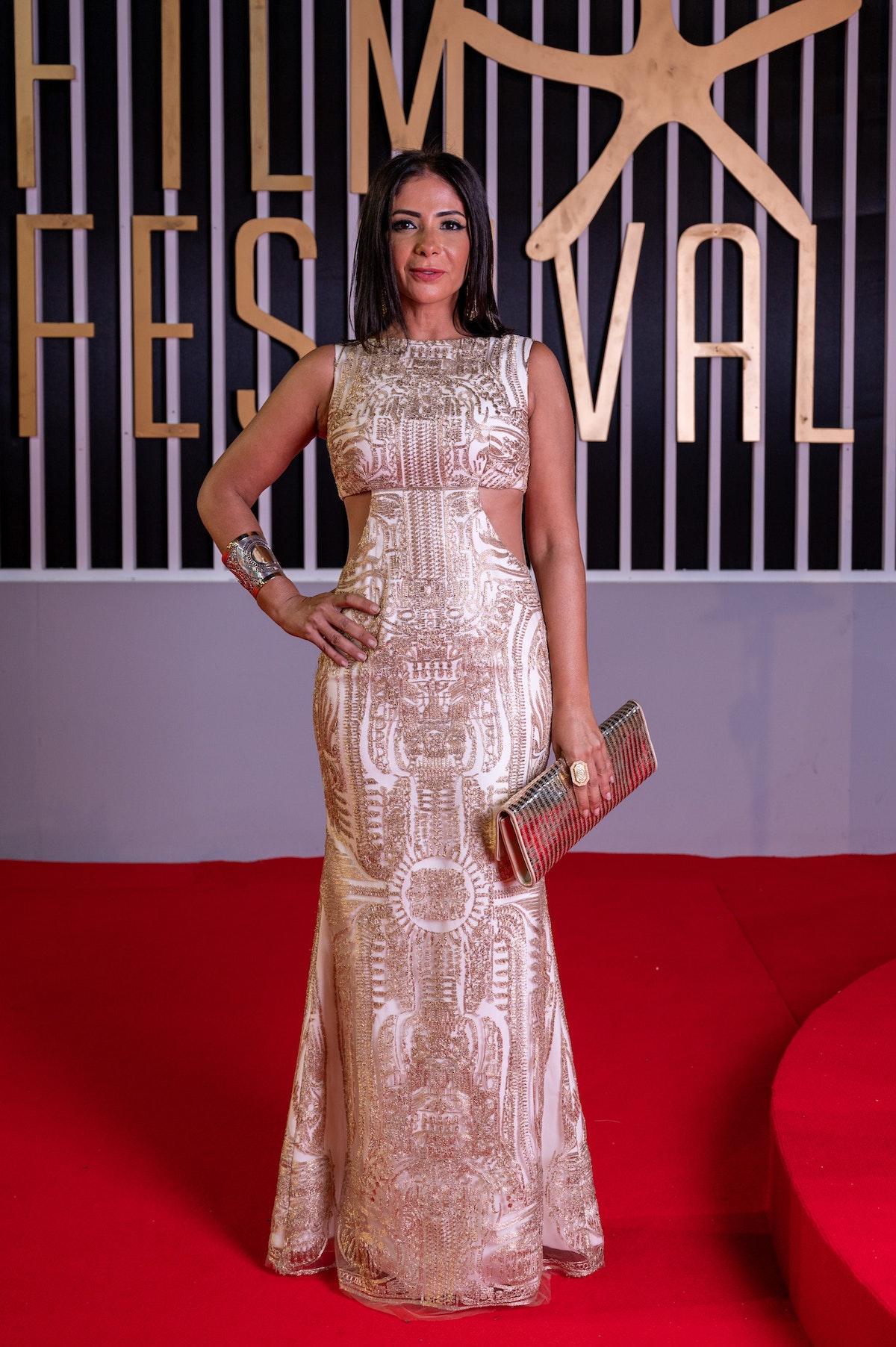 الممثلة المصرية منى زكي - AFP