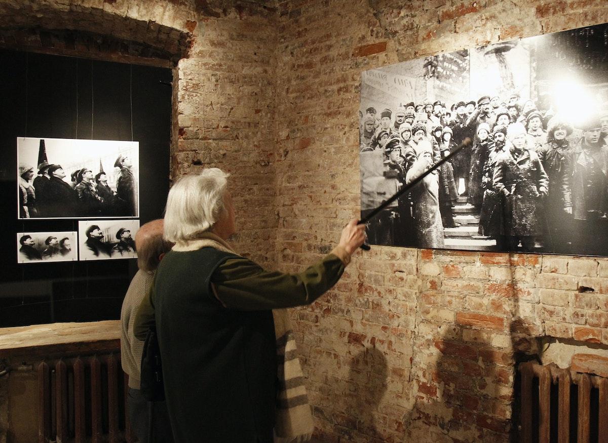 صورة في متحف رسمي لتاريخ الغولاغ بموسكو - 2 أبريل 2012 - REUTERS