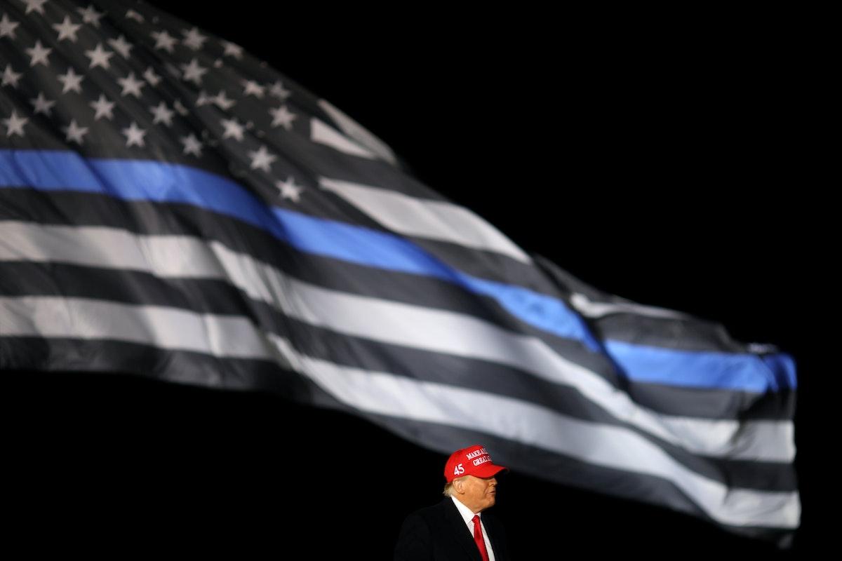 دونالد ترمب خلال حملته الانتخابية في جنوب ويسكونسن. 17 أكتوبر 2020 - REUTERS