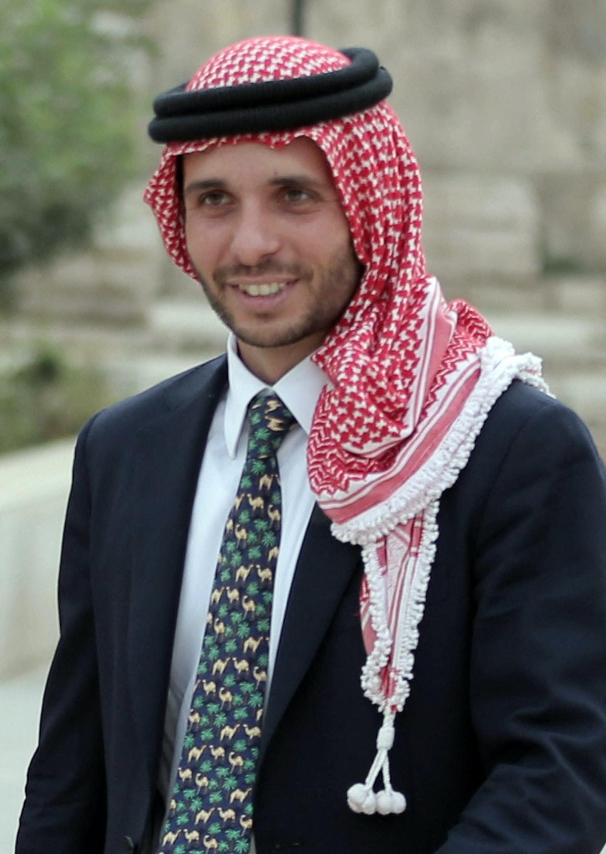 الأمير الأردني حمزة بن الحسين - AFP