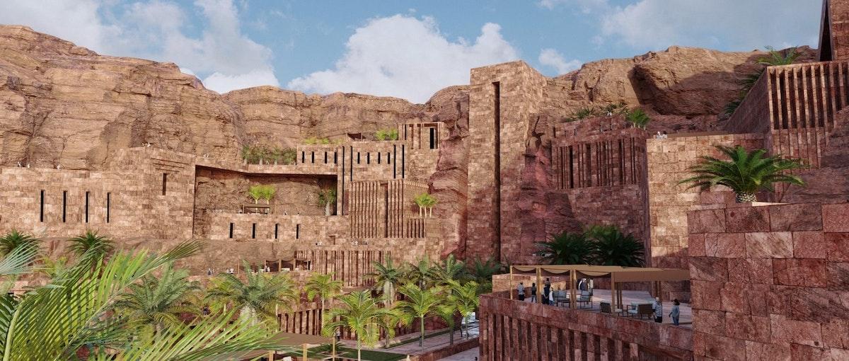 """أحد المواقع الأثرية في منطقة دادان في محافظة العلا والتي شهدت قيام مملكة دادان في عصور ما قبل الميلاد - """"الشرق"""""""
