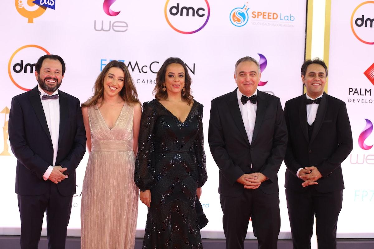 فريق عمل مهرجان القاهرة السينمائي - المكتب الإعلامي للمهرجان