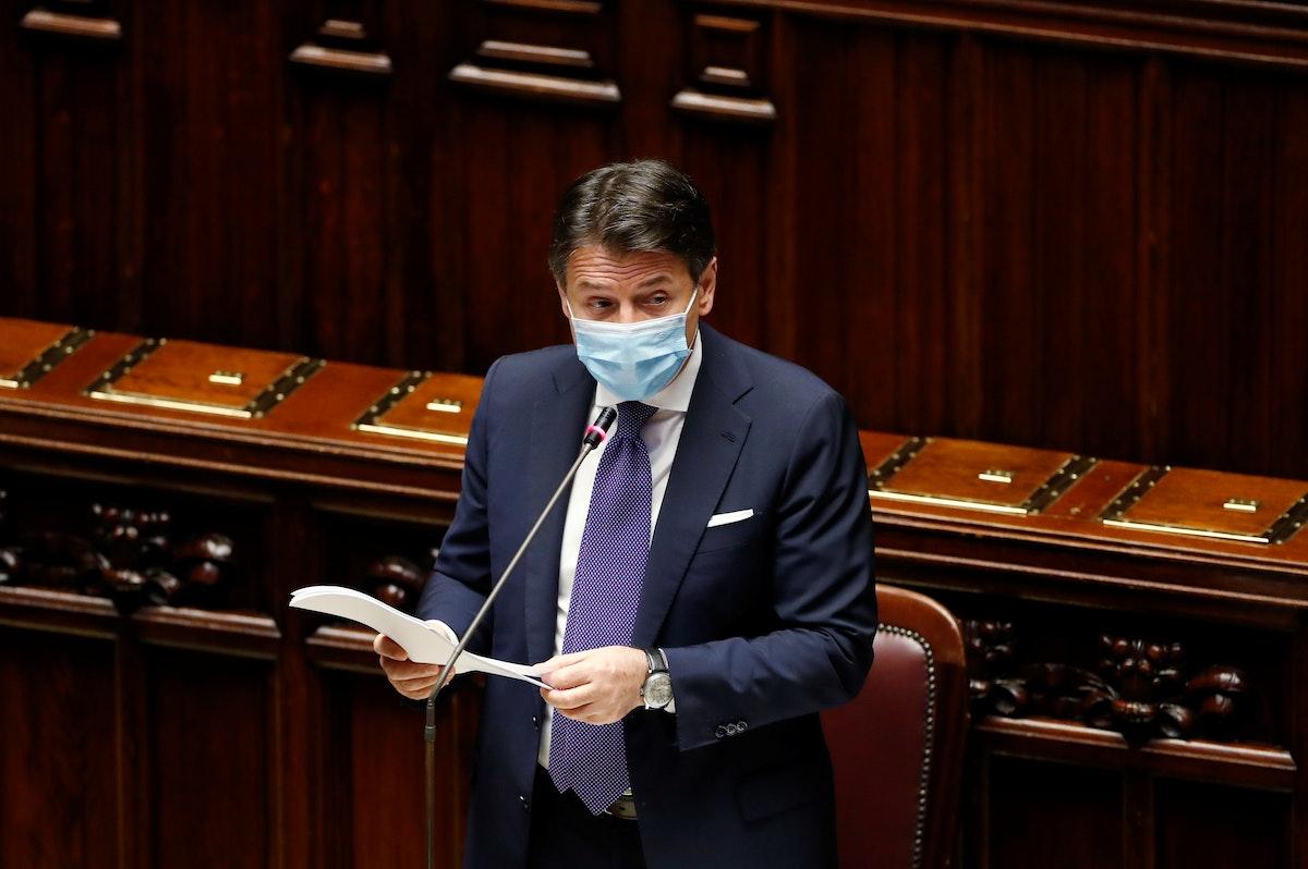 رئيس الوزراء الإيطالي جوزيبي كونتي - REUTERS