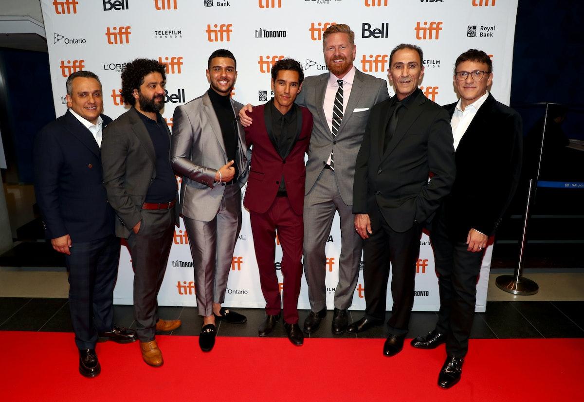 فريق عمل الفيلم أثناء عرضه في مهرجان تورينتو السينمائي 2019 - AFP