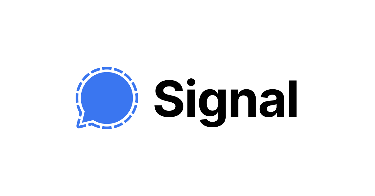 خدمة سيغنال للتراسل الفوري - موقع الشركة
