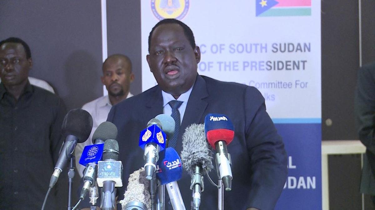 """رئيس فريق الوساطة الجنوب سوداني توت قلواك - """"سونا"""""""