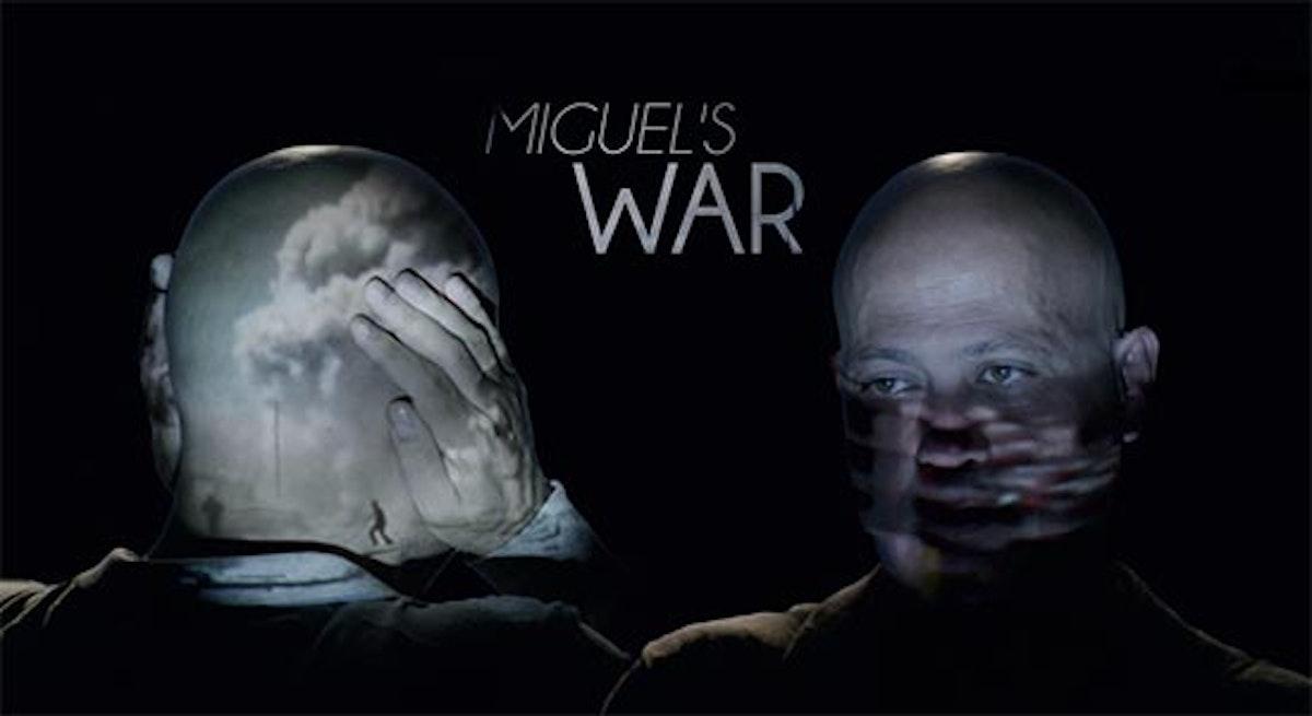 """الملصق الدعائي لفيلم """"حرب ميغيل"""" - المكتب الإعلامي للشركة المنتجة"""