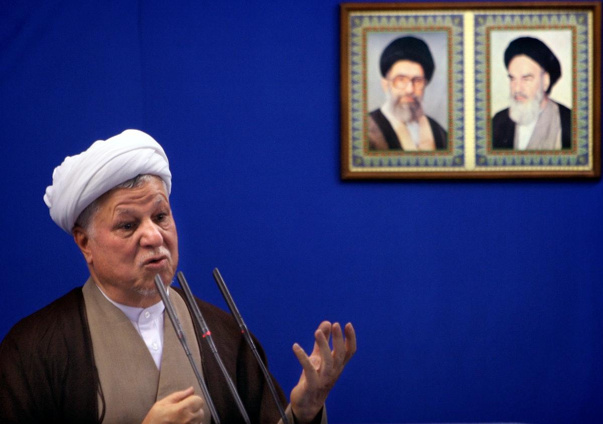 الرئيس الإيراني السابق أكبر هاشمي رفسنجاني - REUTERS