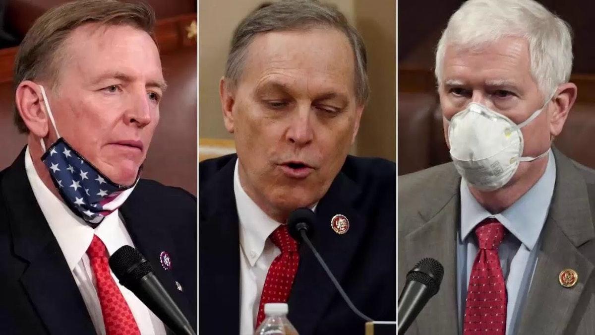 نواب الحزب الجمهوري بول غوسار وآندي بيغز من أريزونا ومو بروكس - CNN