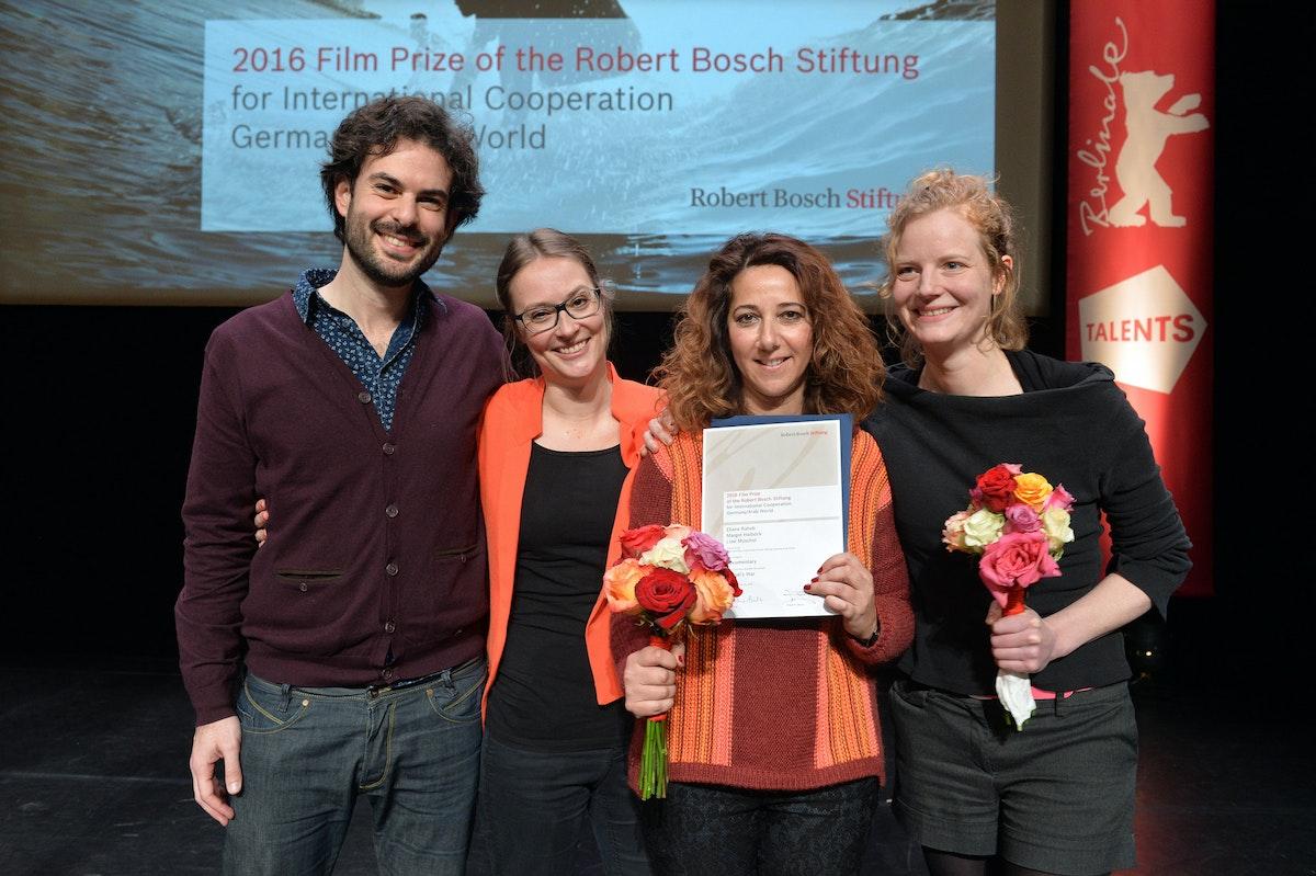 """فريق عمل فيلم """"حرب ميغيل"""" في مهرجان برلين 2016 - المكتب الإعلامي للشركة المنتجة"""