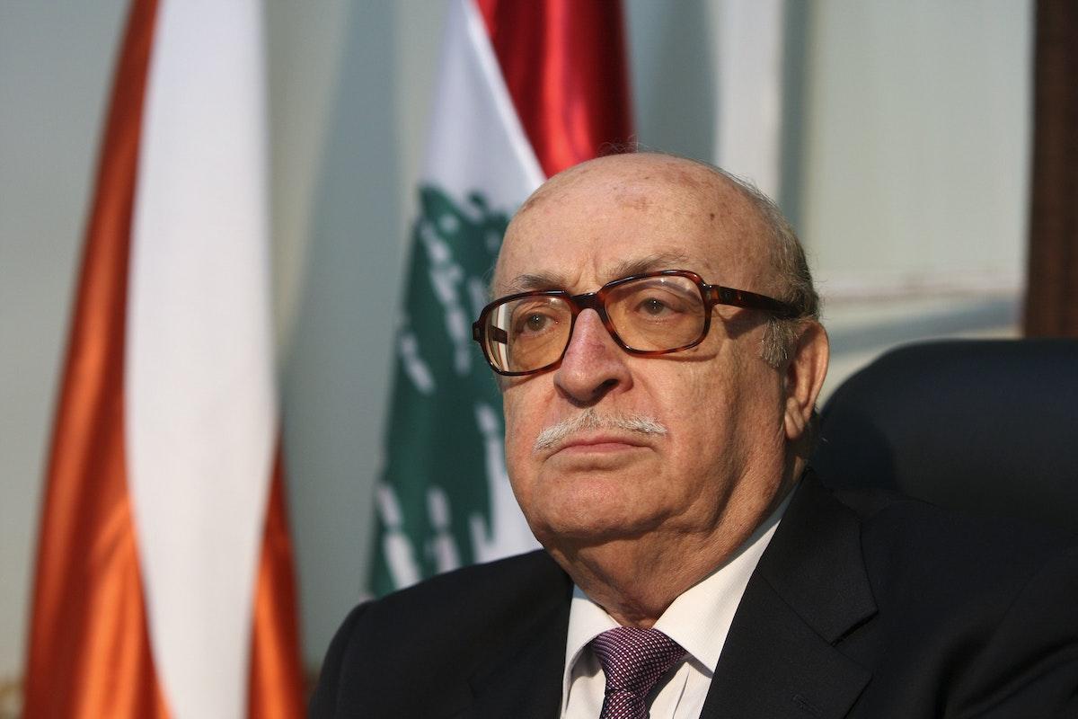 نائب رئيس مجلس الوزراء الأسبق اللواء عصام أبو جمرا - REUTERS
