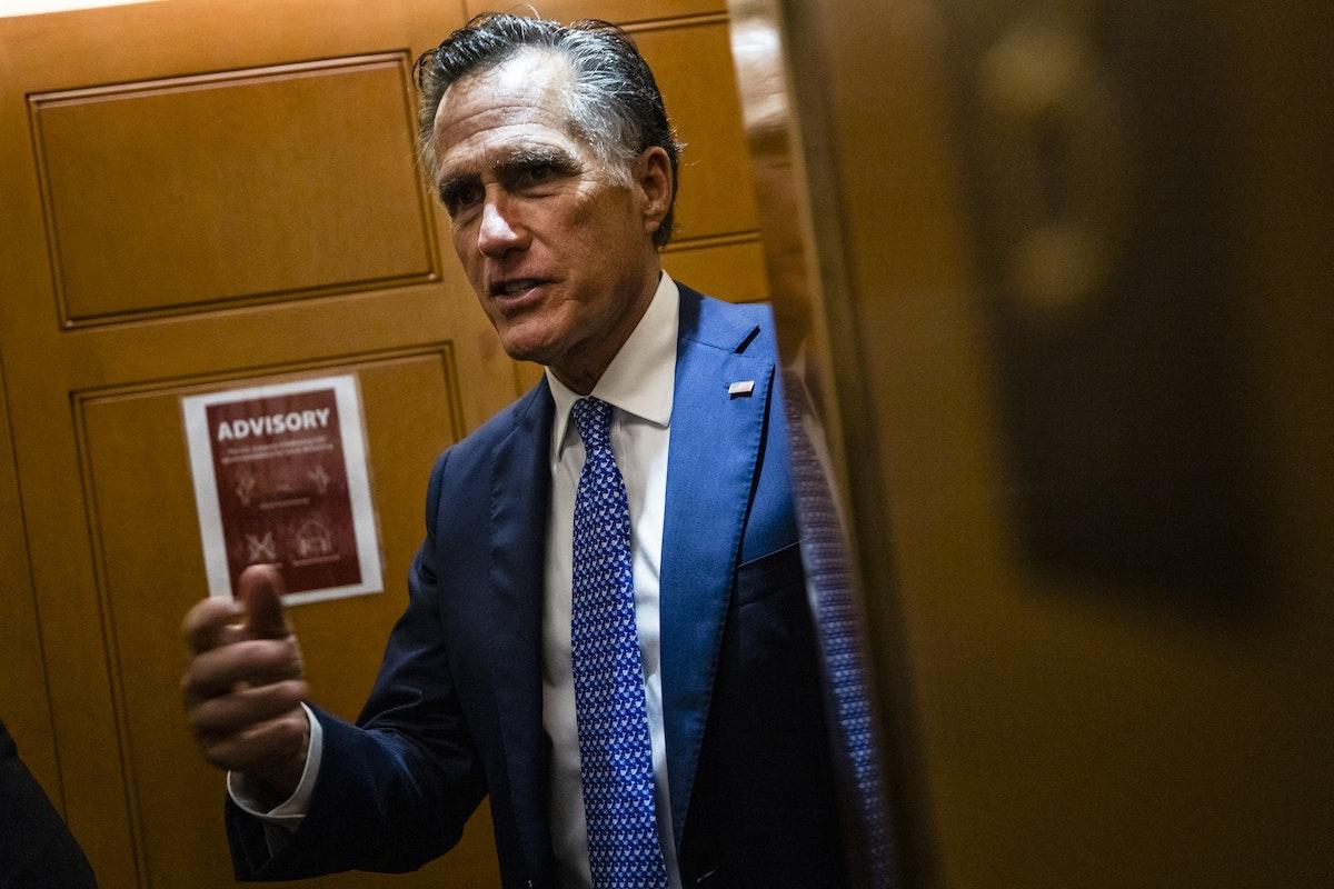 السيناتور الجمهوري ميت رومني - Getty Images via AFP