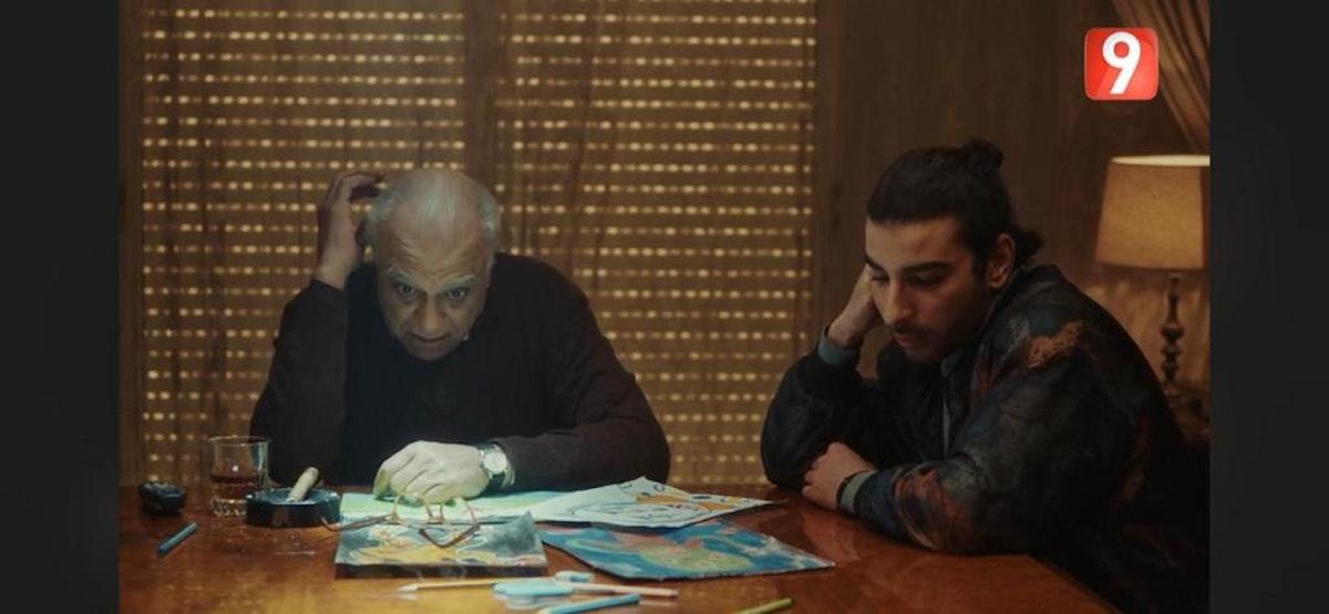 """مشهد من مسلسل """"أولاد الغول"""" - المكتب الإعلامي للشركة المنتجة"""