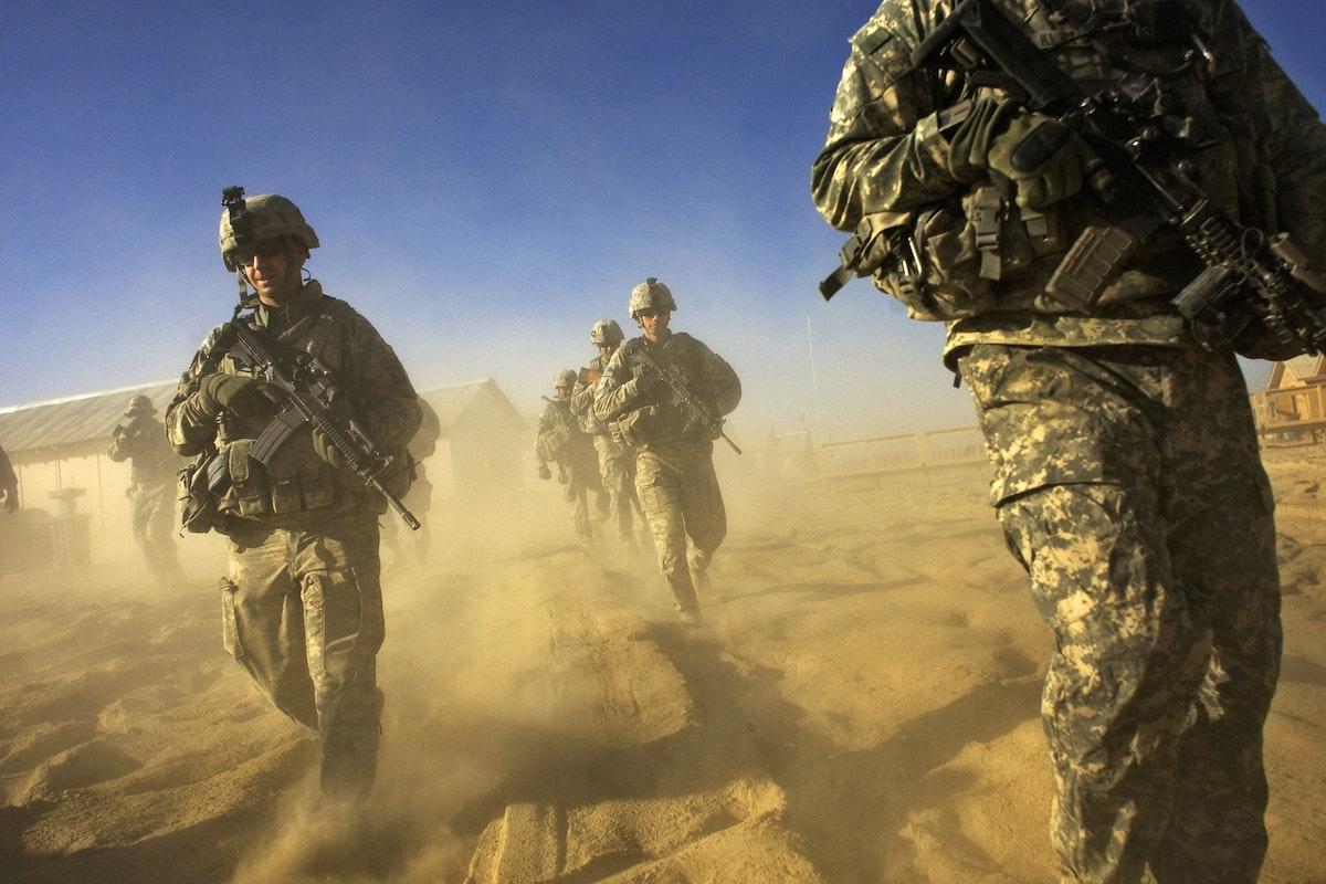 جنود أميركيون خلال دورية في مقاطعة باكتيكا عند الحدود الأفغانية الباكستانية - AFP