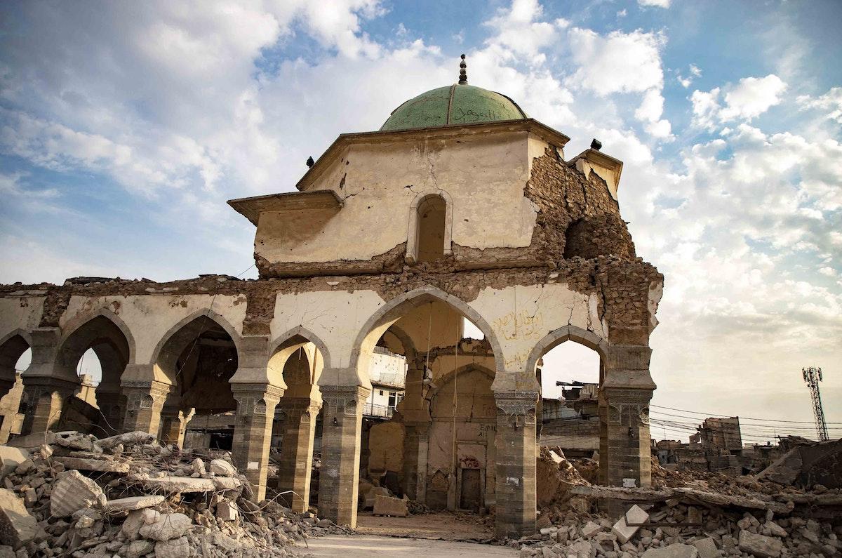 الجامع النوري في مدينة الموصل العراقية - وكالة أنباء الإمارات