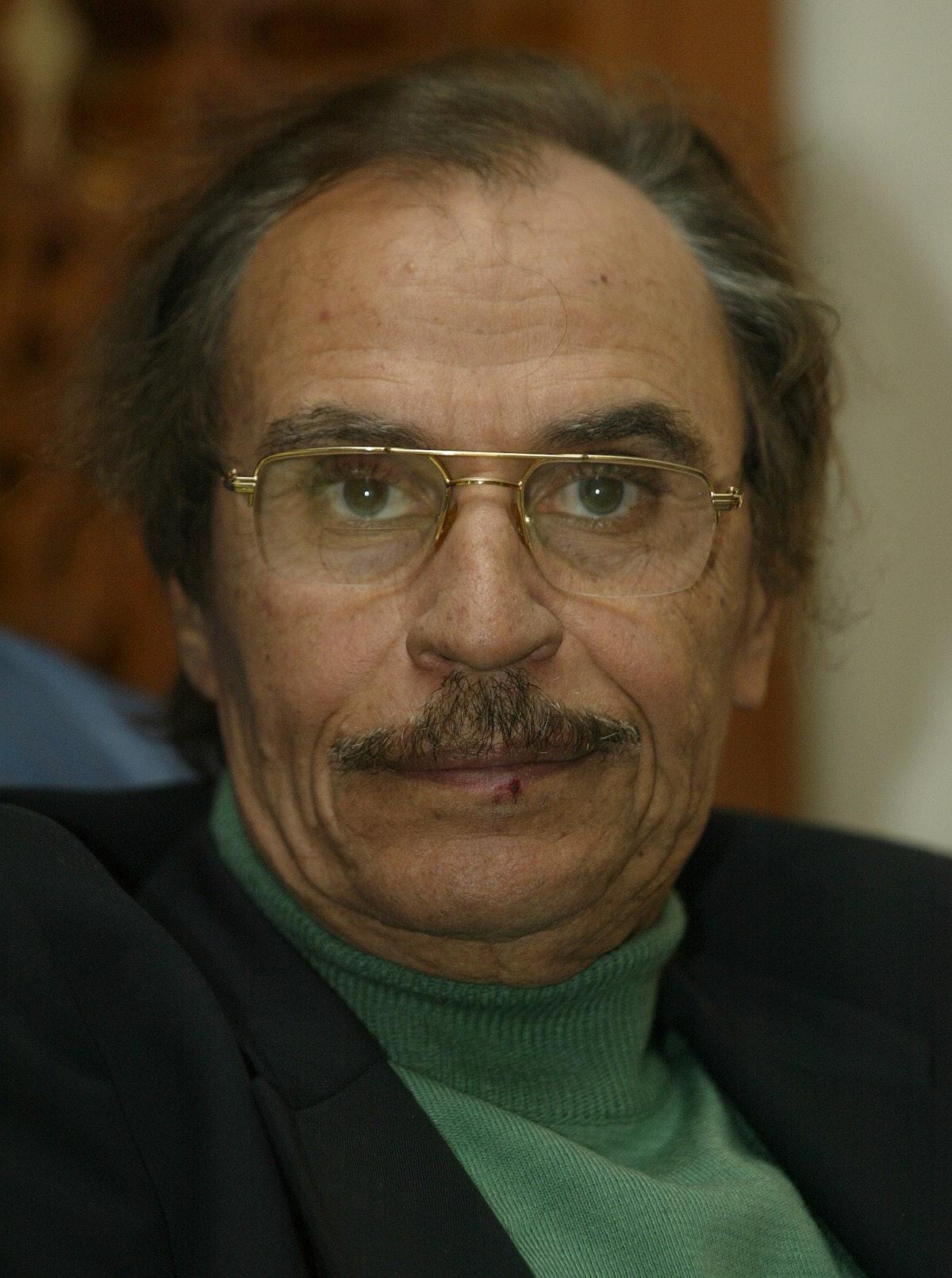 الفنان المصري عزت العلايلي - AFP