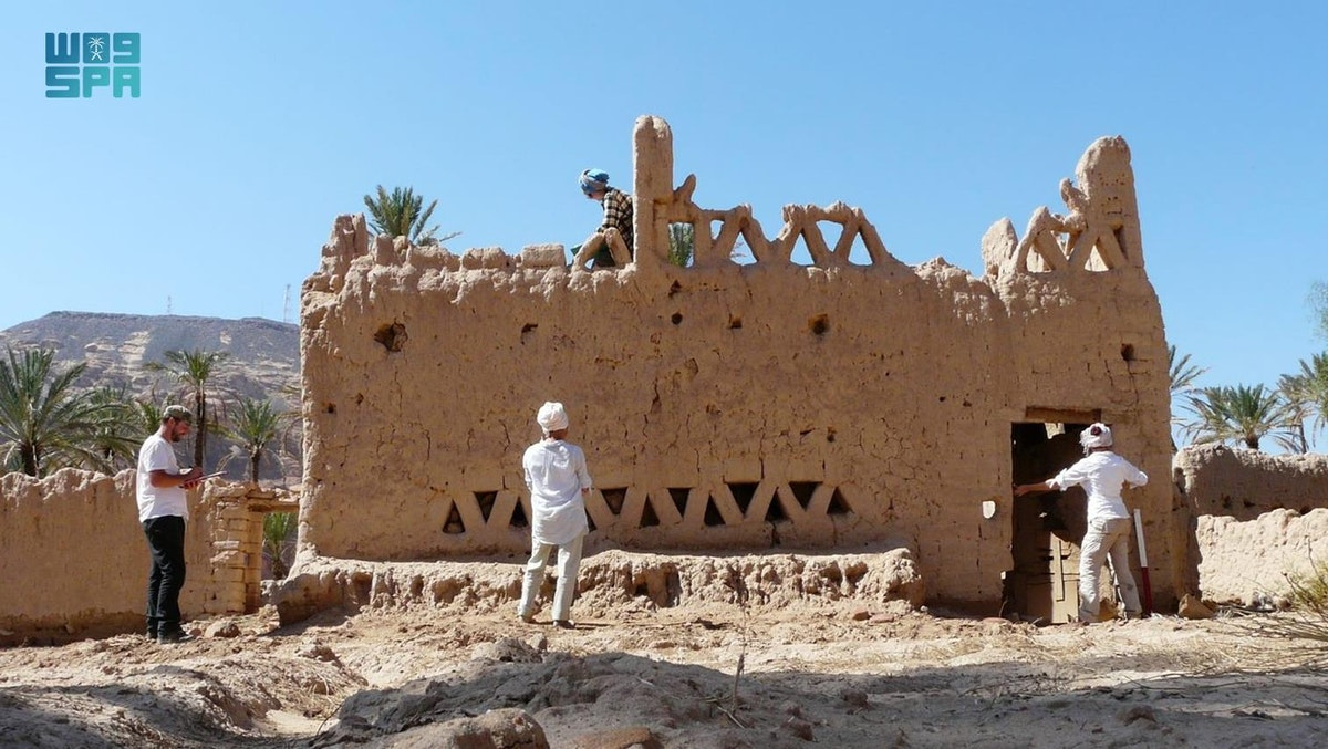 الكشف عن دراسة حديثة لوجود إحدى أقدم سلاسل الهياكل الأثرية في العلا - واس