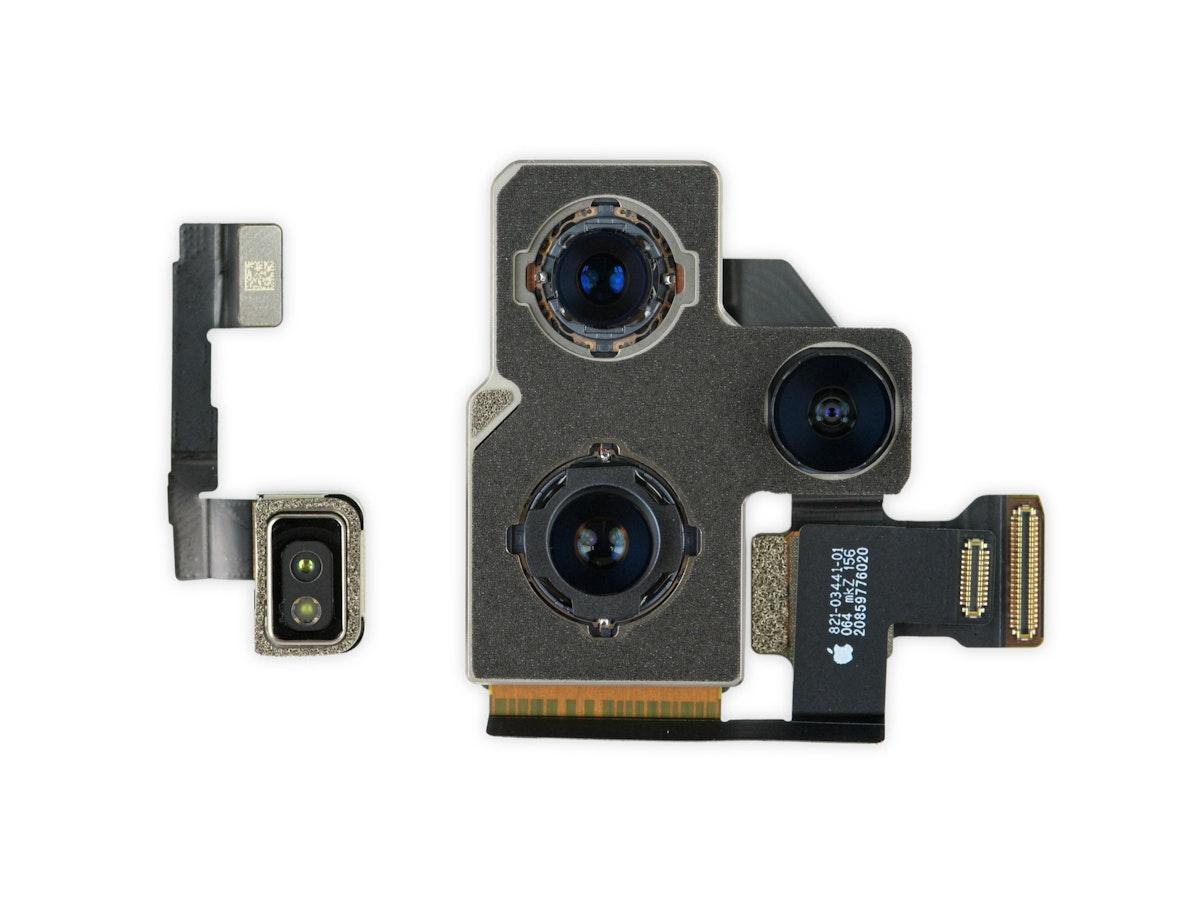 """كاميرا هاتف """"آيفون 12 برو ماكس"""" بعد تفكيكها - iFix it"""